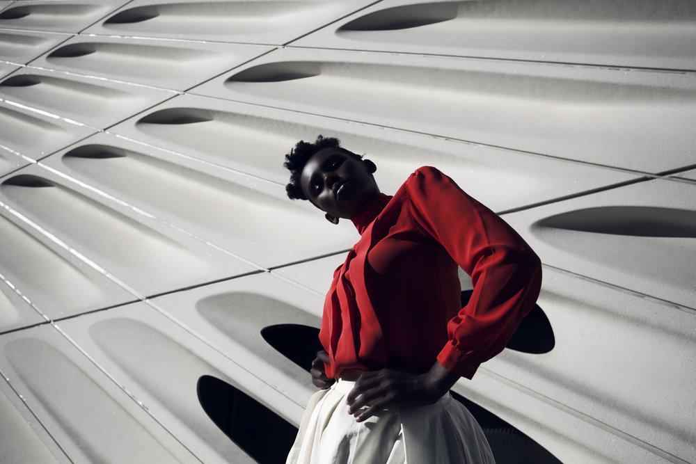 ALONE IN RED / fashion / editorial