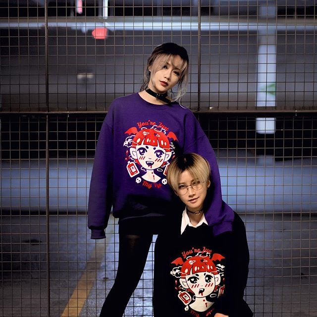 [ N O C T U R N A L ] with @kitsurie and @yumecos 👹👹👹 LIMITED QUANTITY Available‼️💖 Click the link in the bio ➡️➡️➡️ Photo: @xxi.xin  Model: @kitsurie @yumecos  Thank you ladies! 💖