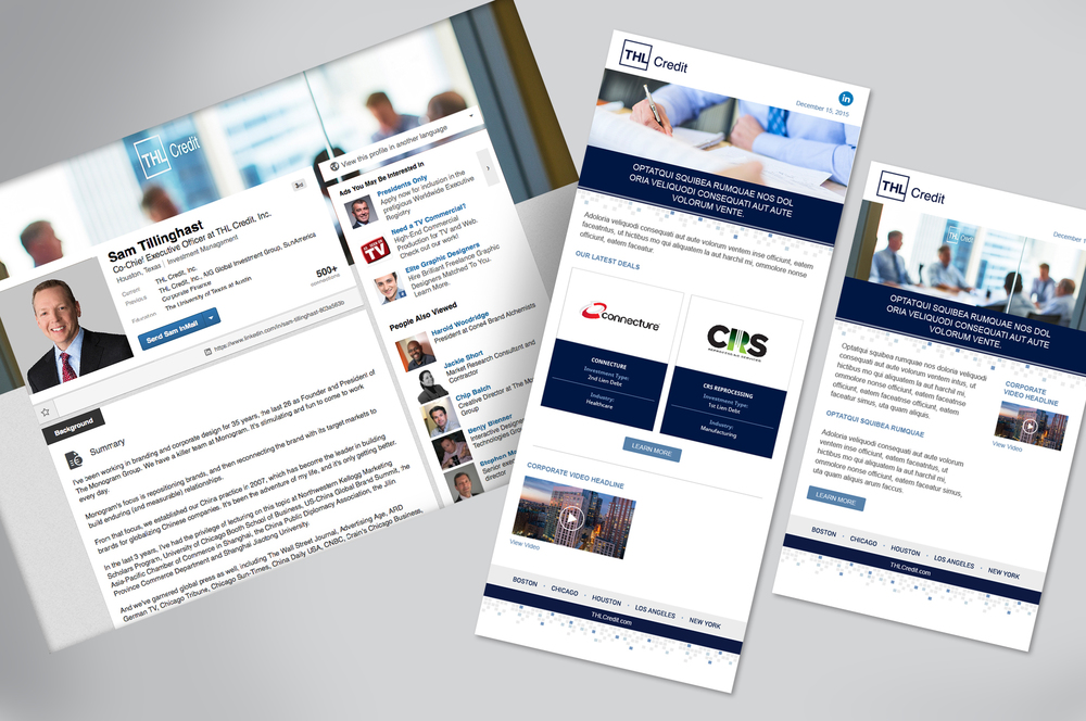 LinkedIn / Email Templates