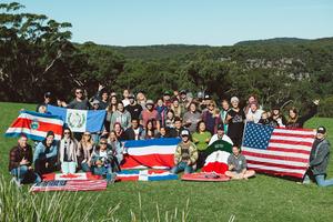 The North America region representing at conference