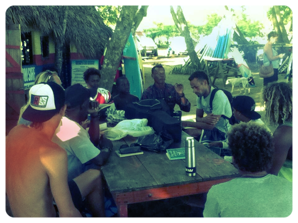This is Nelson leading our local chapter at Encuentro Beach, Dominican Republic.