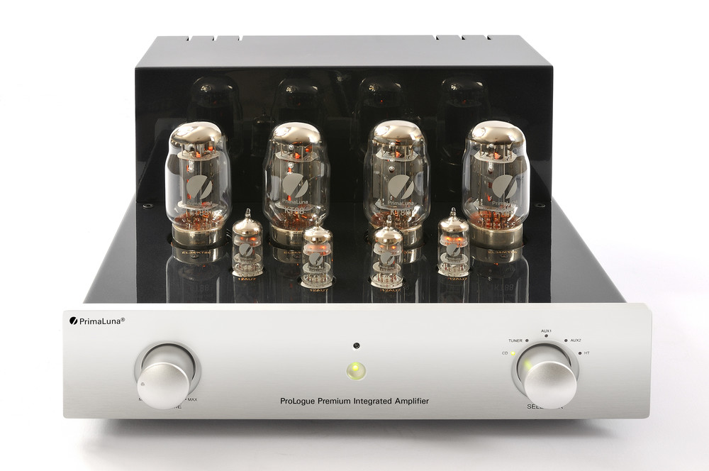 Prologue Premium Integrated Amplifier - silver - front with no cover - HR - JPG.jpg