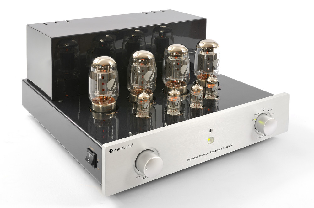 Prologue Premium Integrated Amplifier - silver - front, side with no cover - HR - JPG.jpg