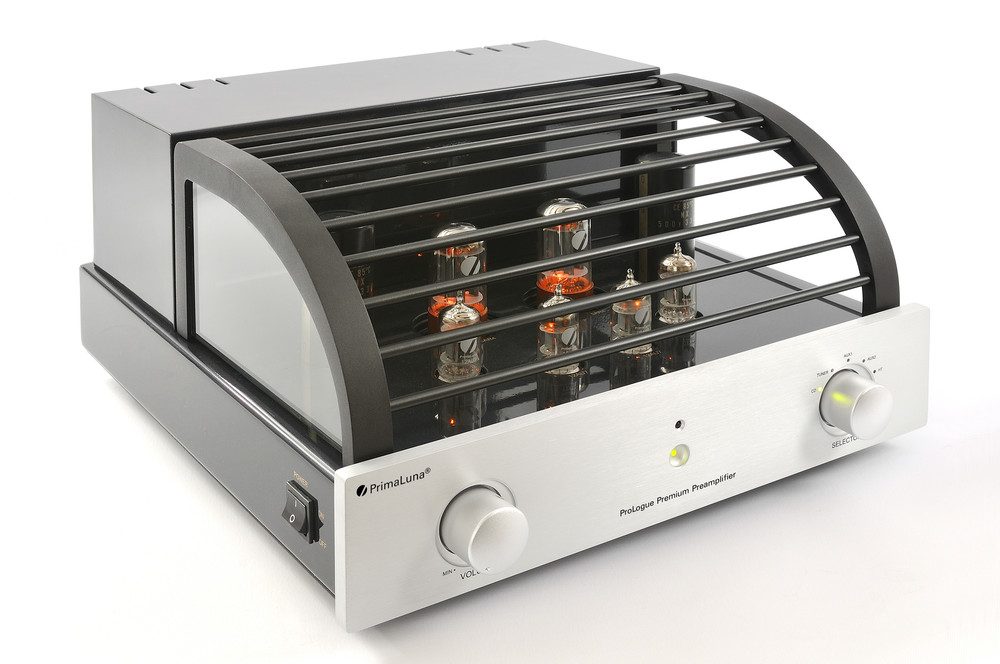 Prologue Premium Preamplifier - silver - front, side with cover - HR - JPG.jpg