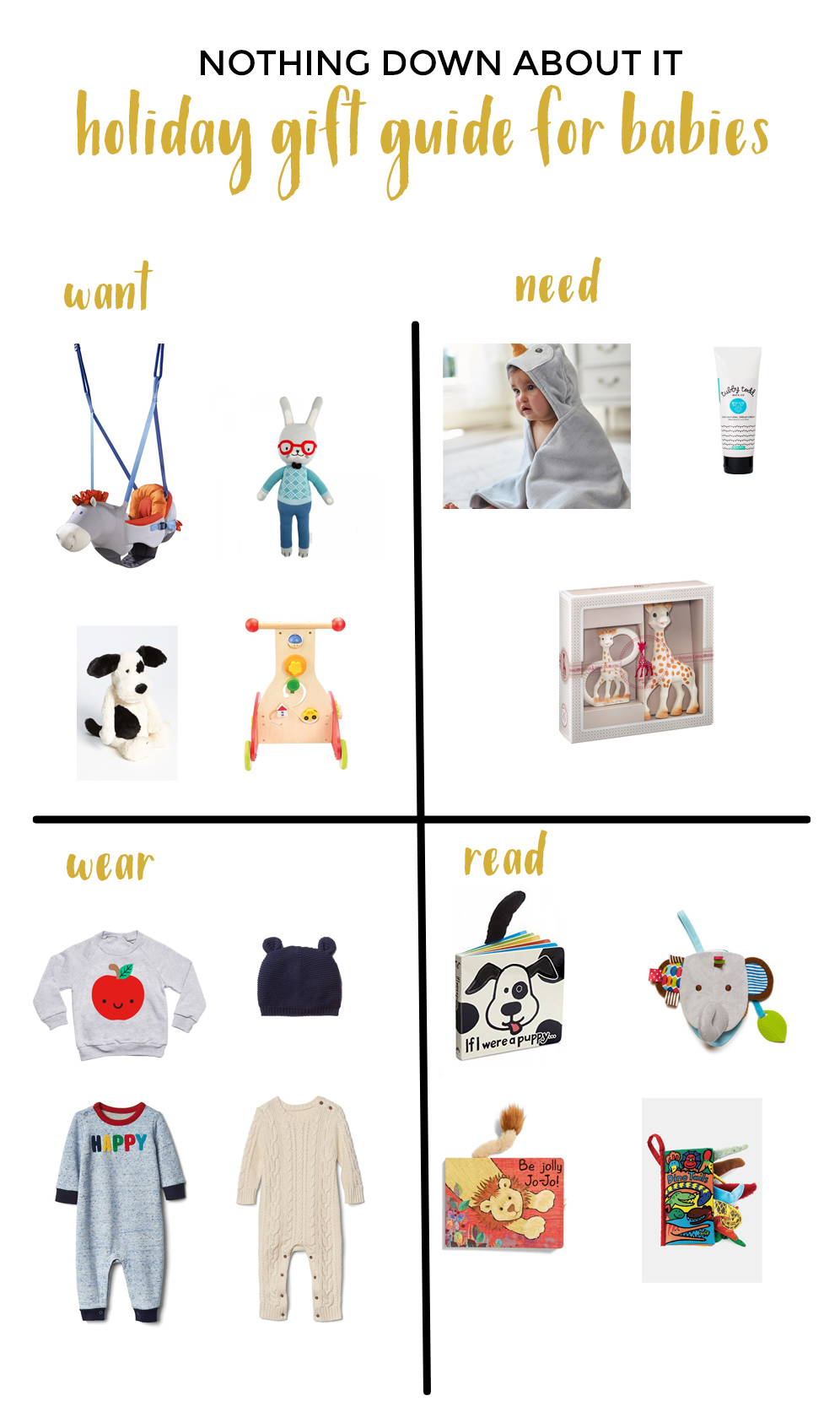 HOLIDAY GIFT GUIDE FOR BABIES
