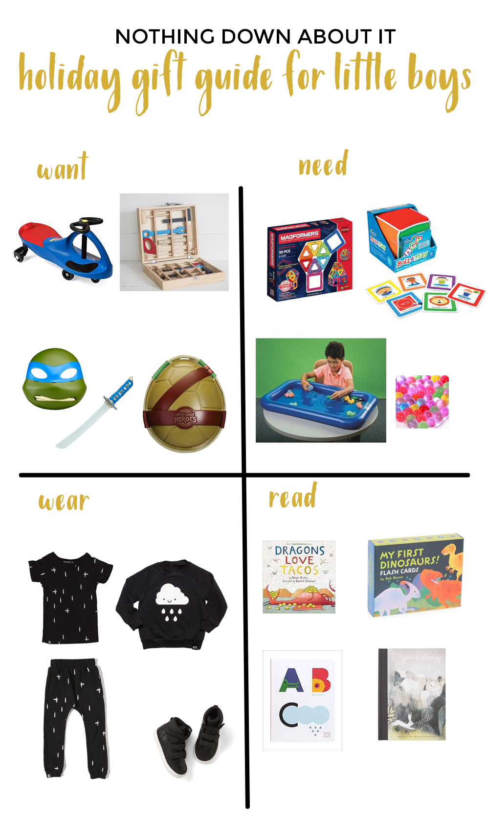 gift guide for little boys, gift guide for special needs children