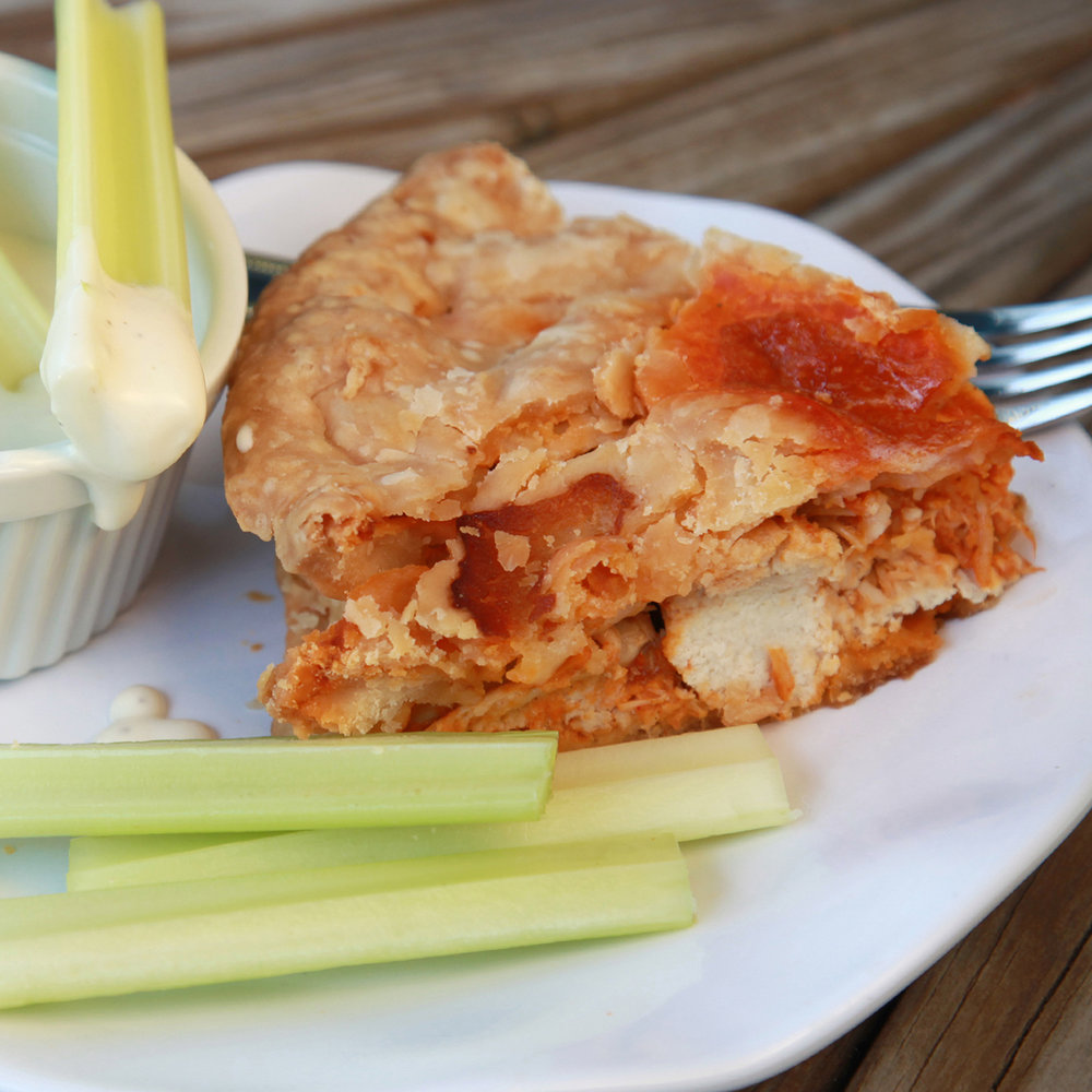 Buffalo Chicken Pie