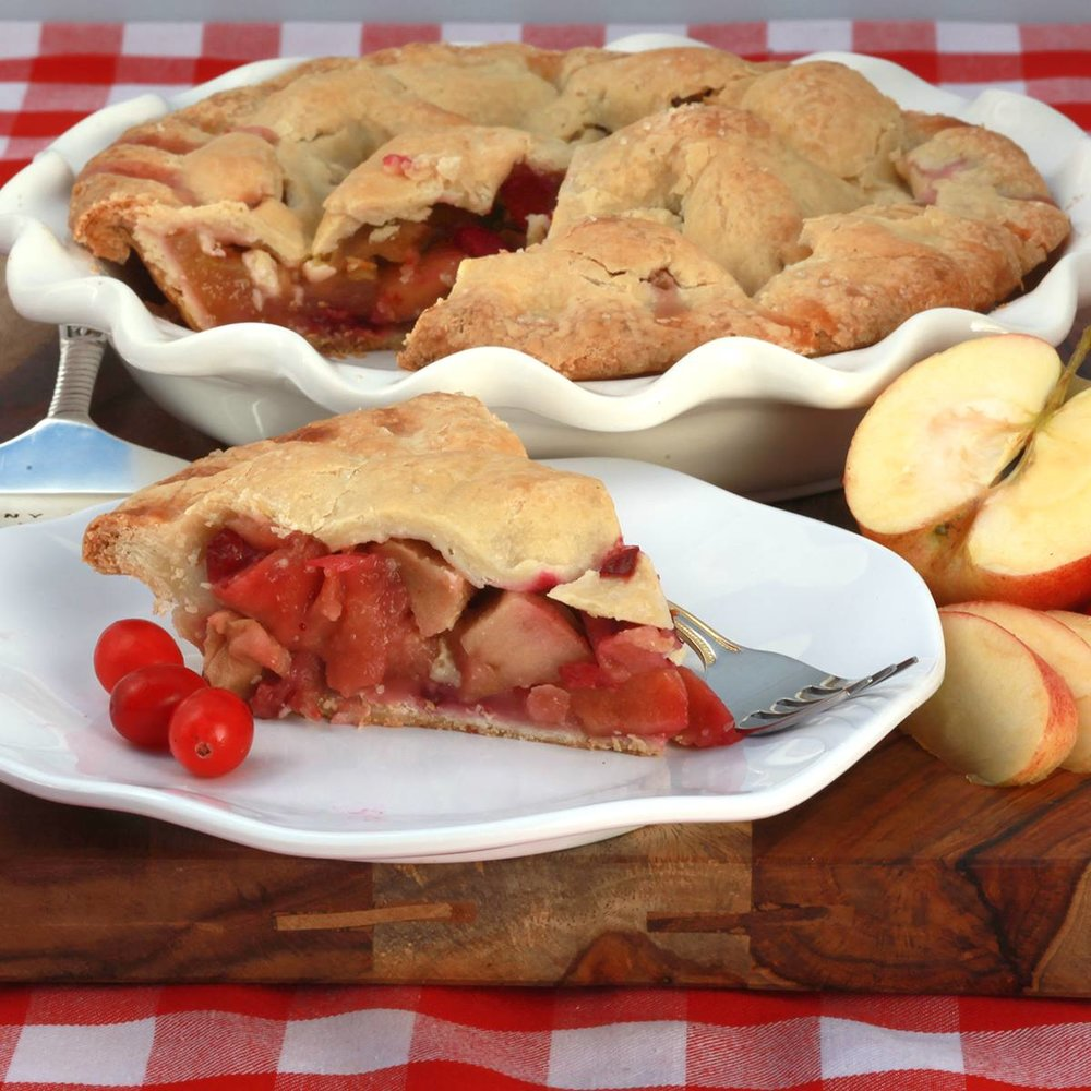 Cranapple Pie