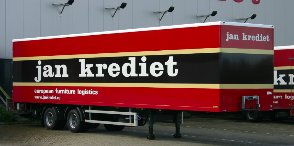 Gesloten carrosserie - verhuiswagen