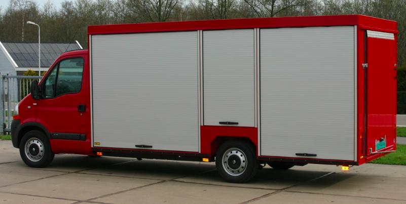 Gesloten carrosserie - brandweer
