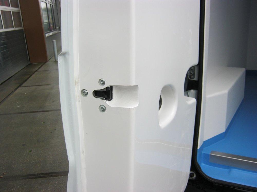 Koelwagen inbouw met koelunit - geïsoleerde deuren