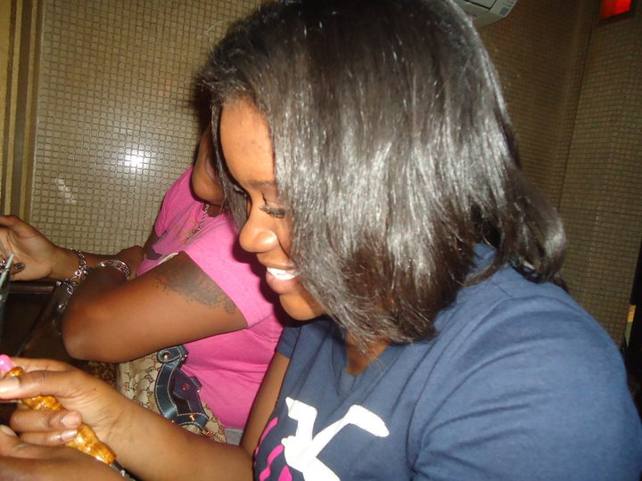 2012. My hair was chemical-free and natural but worn in a blown out state and straightened by a flat iron.
