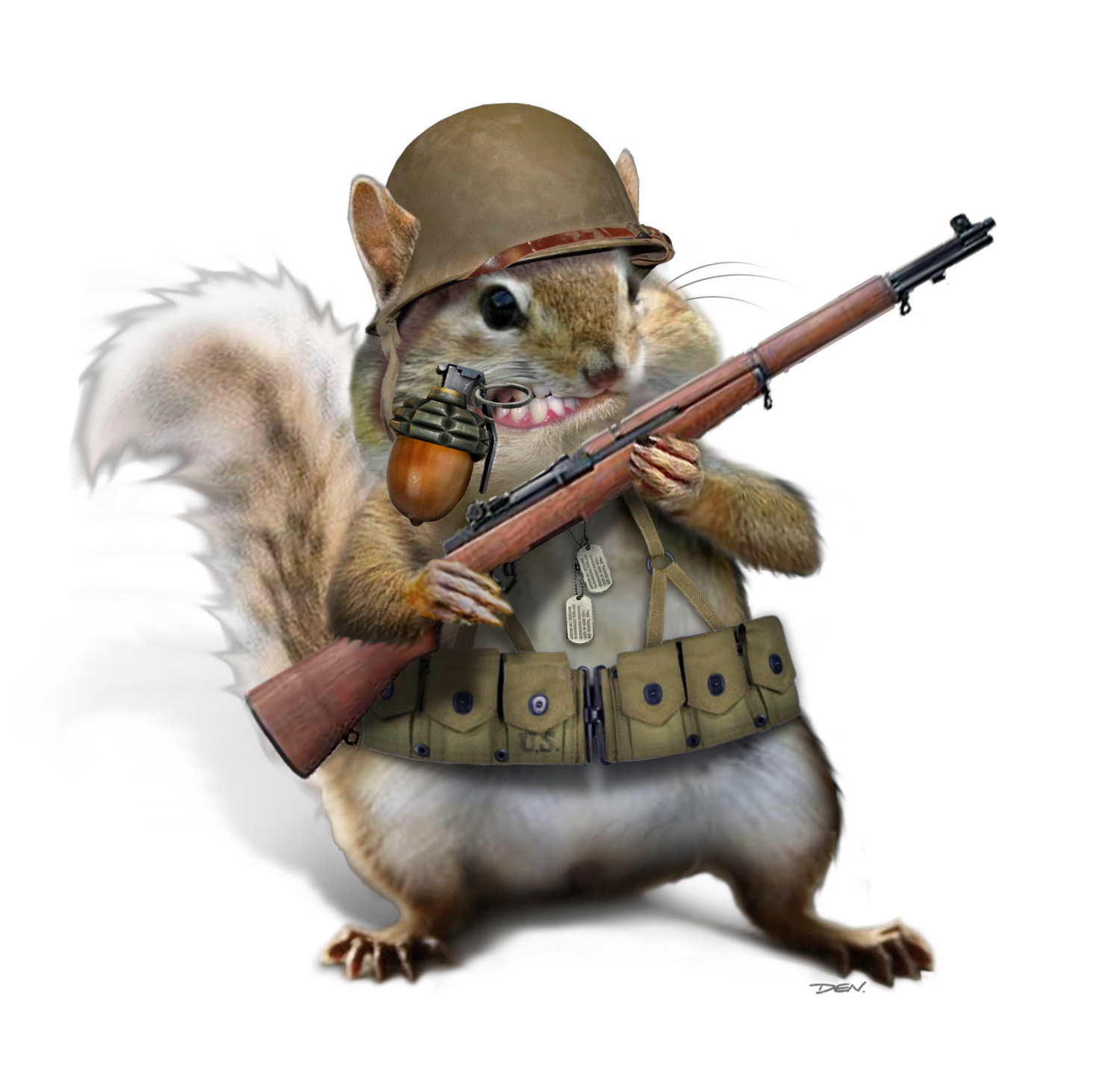 Tactical Chipmunk