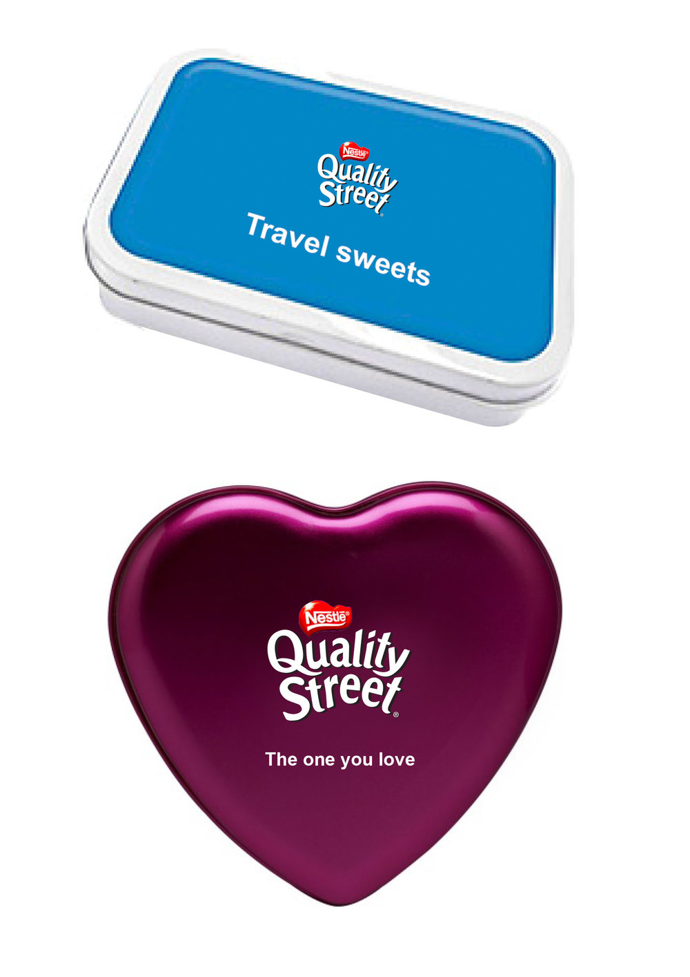 Limited edition packaging could reflect each of these events. Like a heart-shaped box filled with your loved one's favorite for Valentine's day, or a travel sweet box filled with toffee pennies.