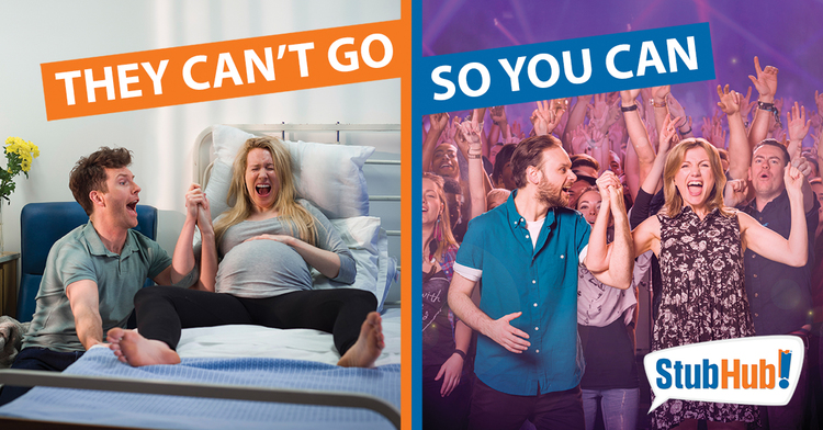 StubHub Multi platform campaign - They Can't Go So You Can