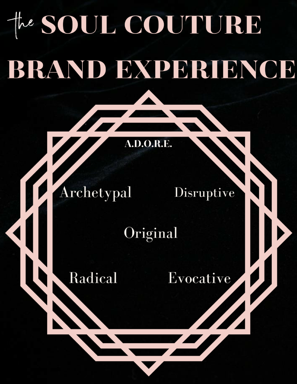 soul aligned brand map adore