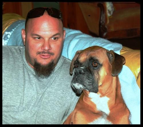 Zac with Zeus