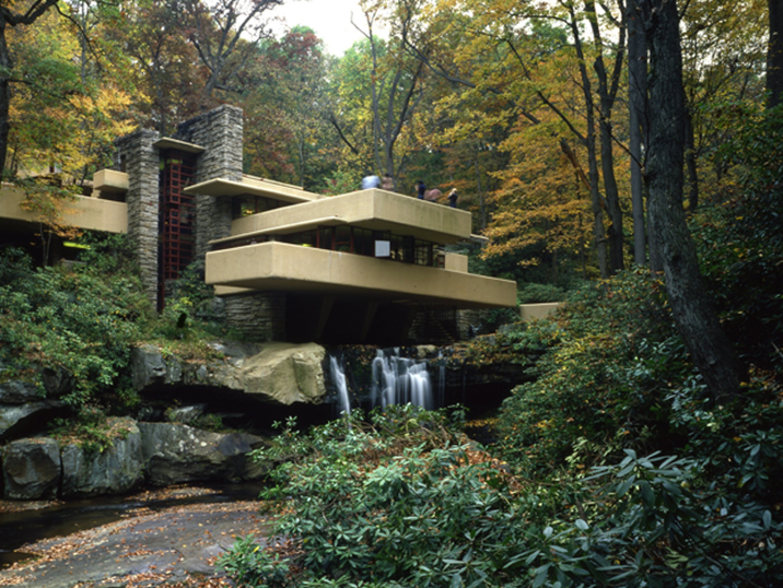 Fallingwater  Peek inside one of the most iconic architectural homes in America.  Photo by Thomas A Heinz
