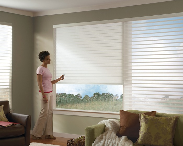 Motorized shades blinds in west palm beach fl of going into every room and trying to get around the furniture to open the house up for the day you can do it by the touch of a button so easy solutioingenieria Choice Image