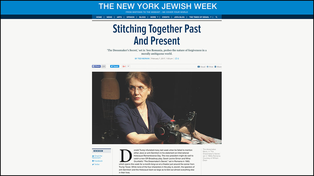 Stitching Together Past And Present  THE NEW YORK JEWISH WEEK