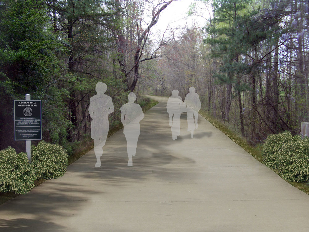 hall county multi-use trail plan