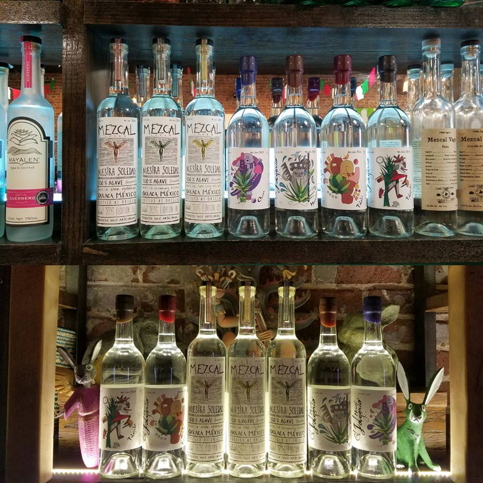 Oaxacan Agave Shrine Palenque Mezcalaria Lauches On South Broadway