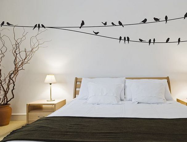 Birds on a Wire Wall Stickers by Bright Star Kids,