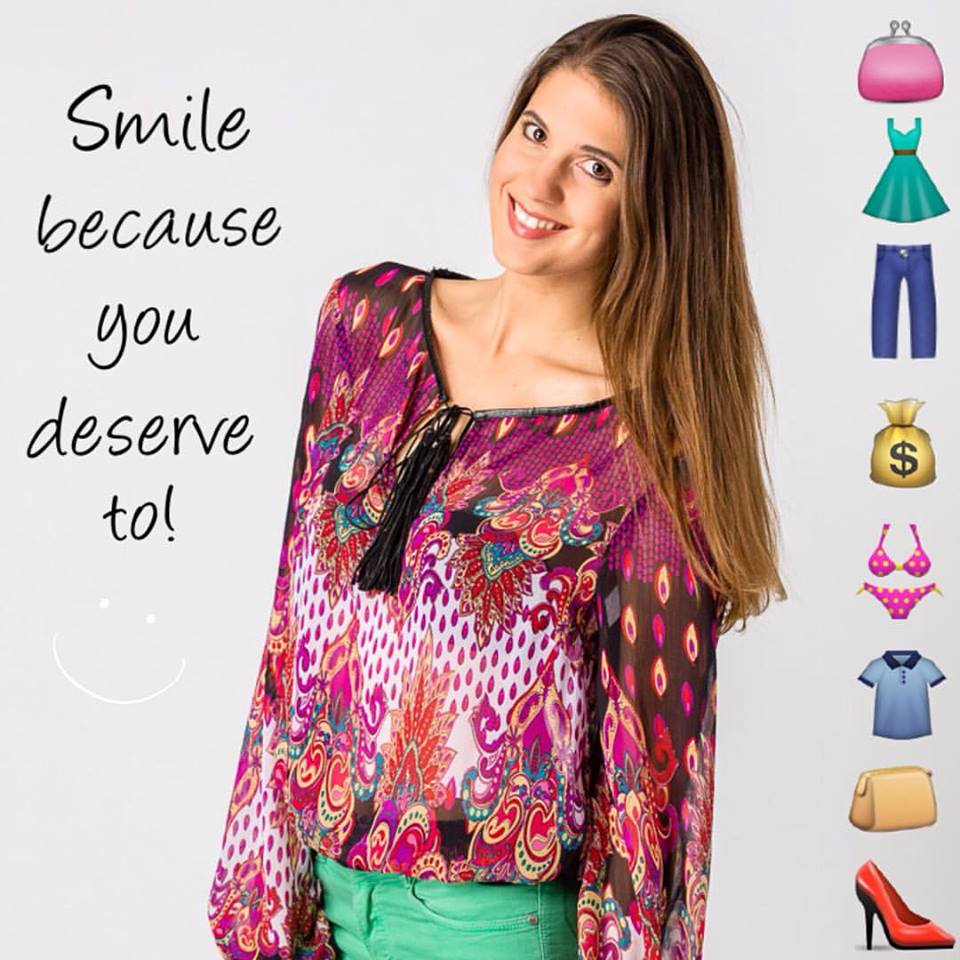 Smile because you just shopped ethically! Smile because you deserve to!