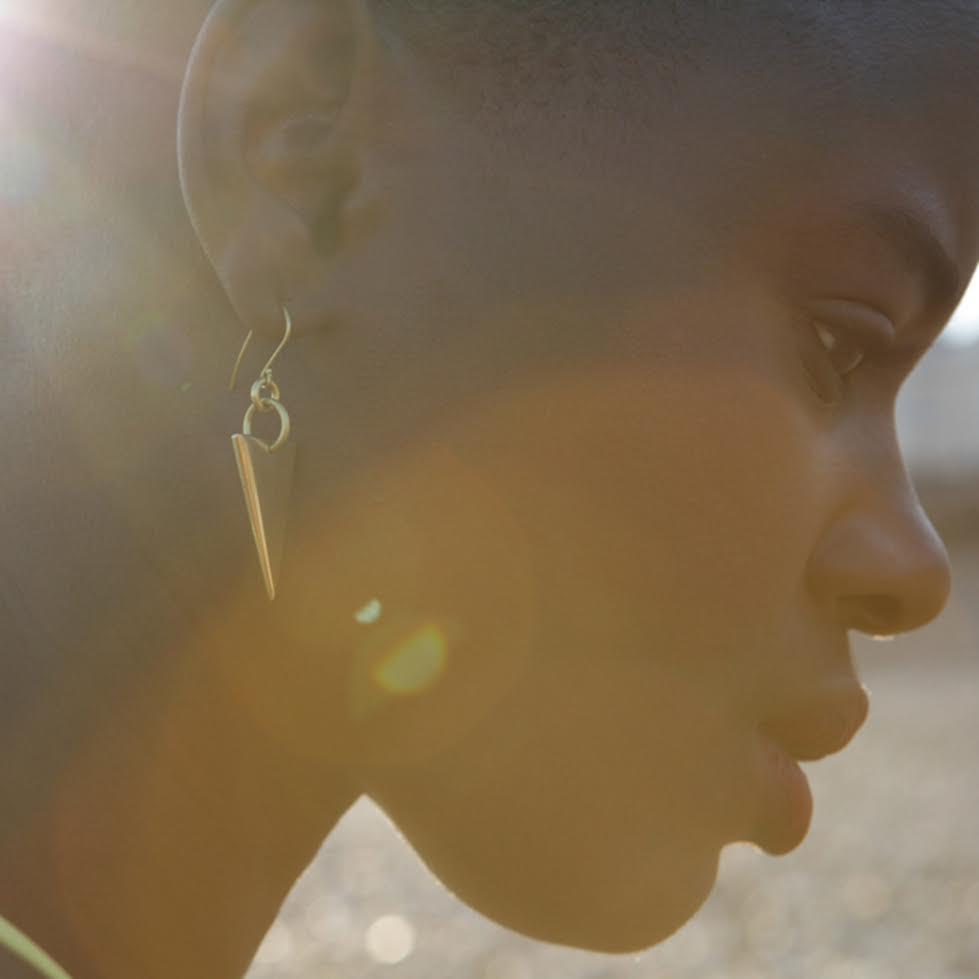Mamba brass Earings £20