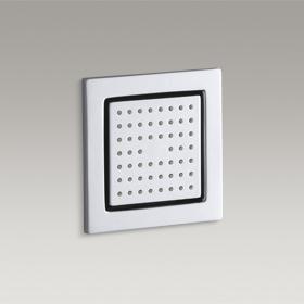 WATERTILE  Square 54-Nozzle Body Spray  K-8002IN-CP