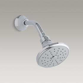 TUXEDO  Air-induced 2.0 gpm showerhead with arm by Barbara Barry  P21558-00-CP
