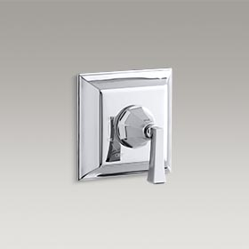 MEMOIRS®  Valve trim with Deco lever handle for Rite-Temp® pressure-balancing valve  K-T463-4V-CP