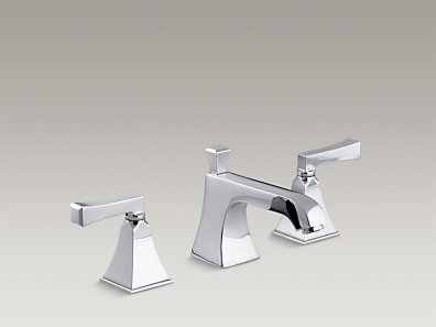 MEMOIRS Widespread commercial lavatory faucet with Stately design K-454-X4V-CP