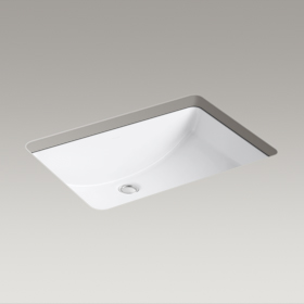 LADENA Rectangular undermount bathroom sink K-2215-0