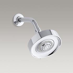 PURIST®  2.5 gpm multifunction wall-mount showerhead  K-966-CP