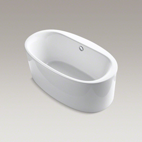 "SUNSTRUCK 66"" x 36"" Oval Freestanding Bath K-6368-0"