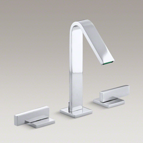 LOURE Widespread Bathroom Sink Faucet K-14661-4-CP