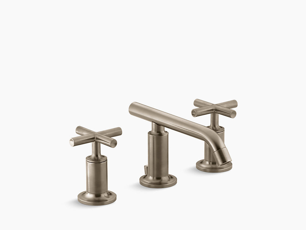 PURIST® WIDESPREAD BATHROOM SINK FAUCET   K-14410-3-BV
