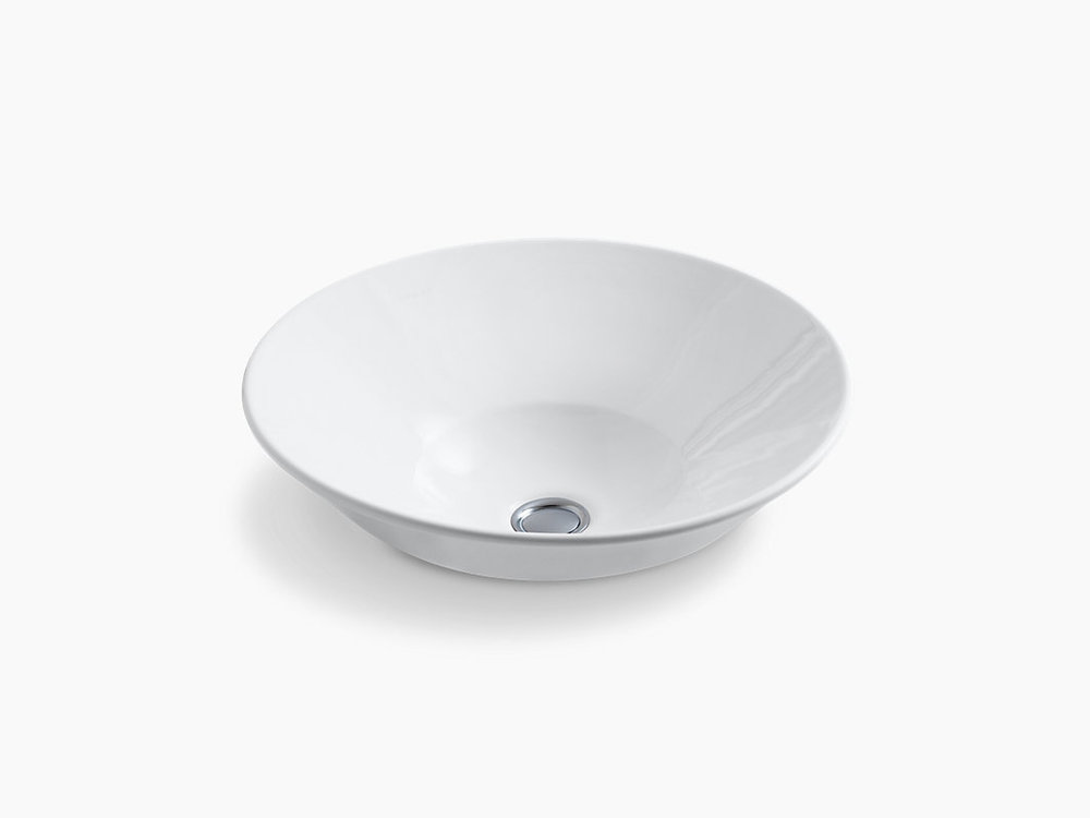 CONICAL BELL® VESSEL BATHROOM SINK   K-2200-G-0