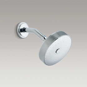 VIR STIL Showerhead with arm by Laura Kirar P21670-00-CP