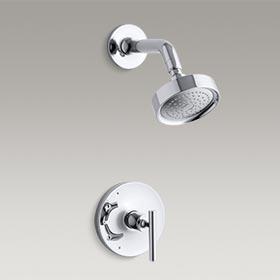 PURIST®  Rite-Temp® pressure-balancing shower faucet trim  K-T14422-4E-CP