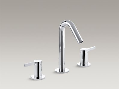 STILLNESS  Widespread bathroom sink faucet  K-942-4-CP