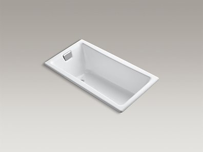 "TEA-FOR-TWO  60""x32"" drop-in bath  K-850-0"