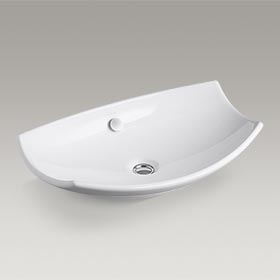 LEAF™  Vessels above-counter bathroom sink  K-2530-0