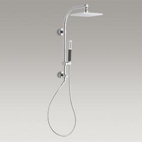 WESTIN HEAVENLY SHOWER  HydroRail® -R arch bath/shower column  K-45205-MA-CP