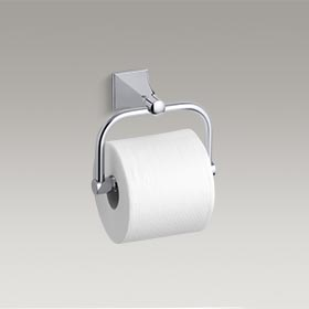 MEMOIRS®  Toilet tissue holder with Stately design  K-490-CP