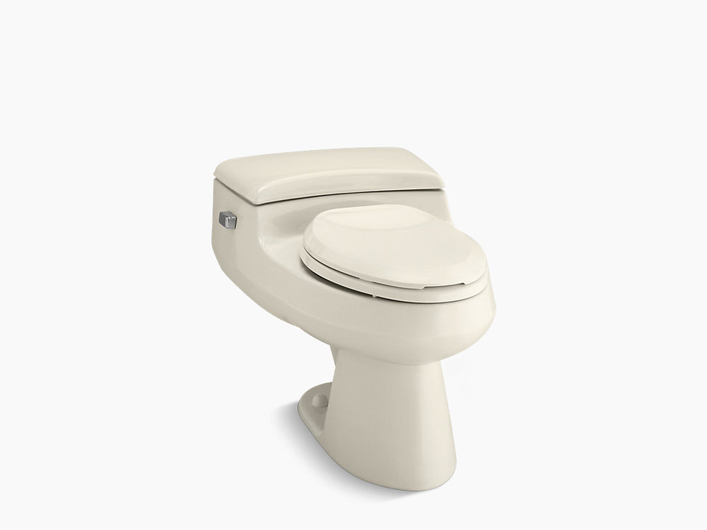 SAN RAPHAEL Comfort Height® one-piece elongated 1.0 gpf toilet K-3597-47