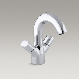 OBLO  Two-Handle Monobloc Basin Faucet  10085W-CP
