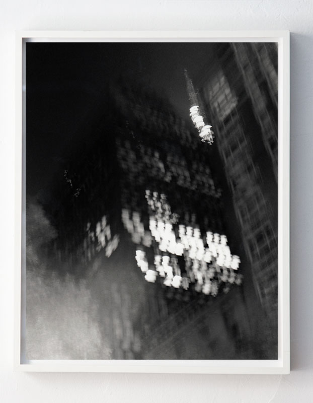 """""""Corner of 36th Street and Madison Avenue, facing Southwest, 10:16pm,"""" NYC"""