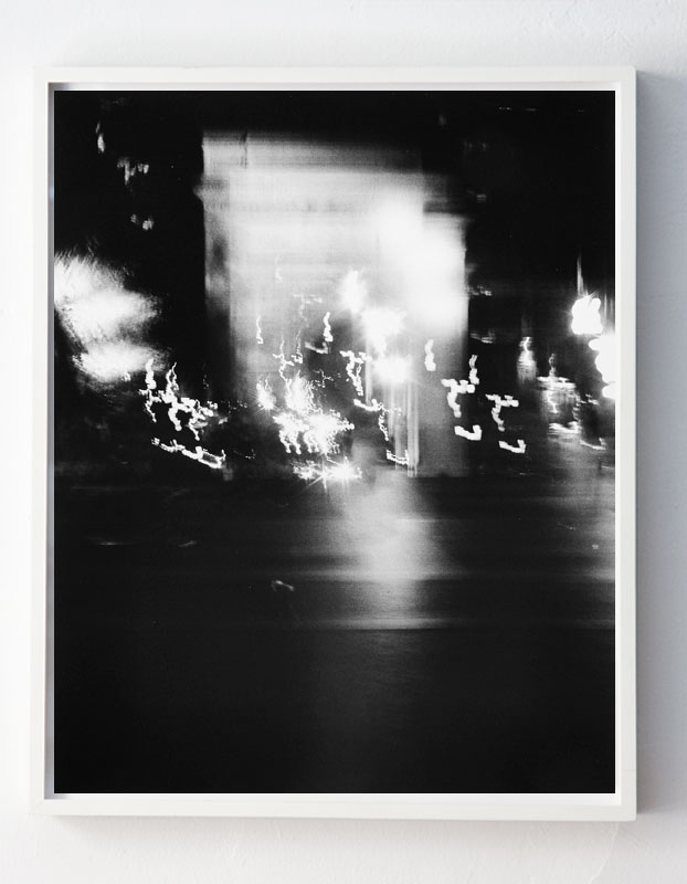 """Fifth Avenue and Eighth Street, facing South, 9:11pm,"" NYC"